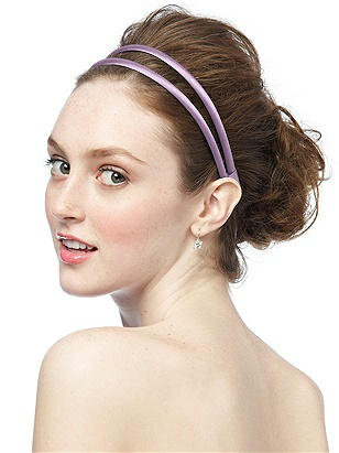 Stretch Charmeuse Double Head Band http://www.dessy.com/accessories/stretch-charmeuse-headband/
