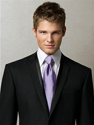 Men's Tuxedo Ties in Duchess Satin http://www.dessy.com/accessories/mens-neck-tie/