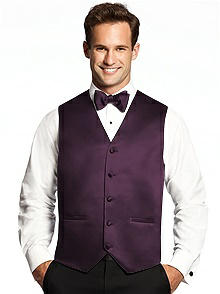 Tuxedo Vests in Custom Colors