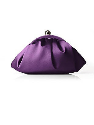 Gathered Matte Satin Clutch http://www.dessy.com/accessories/gathered-matte-satin-clutch/