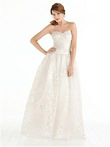 After Six Wedding Dress 1040