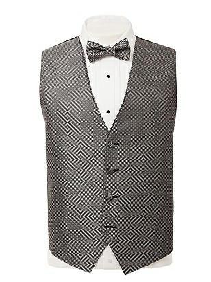 CLOSEOUT - Pattern Tuxedo Vest  http://www.dessy.com/tuxedos/bow-tie-hourglass-tuxedo-vest/