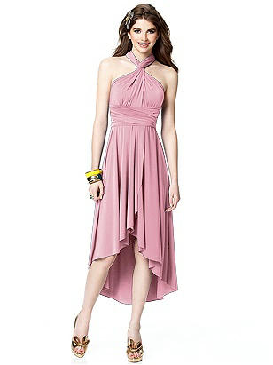 TWIST Convertible Dress with Wrap Skirt  http://www.dessy.com/dresses/twist-faux-wrap-detail-skirt/