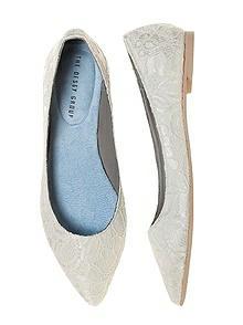 Lace Bridal Ballet Flat