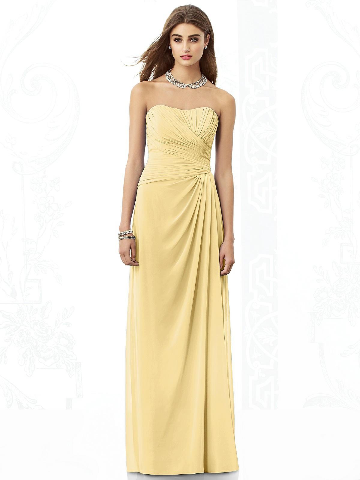 212d21f341973 Lemon Bridesmaid Dresses Ebay Uk - raveitsafe