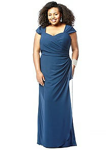 Lovelie Plus Size Bridesmaid Style 9008