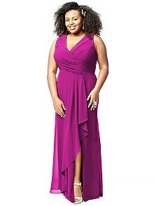 Lovelie Plus Size Bridesmaid Style 9010
