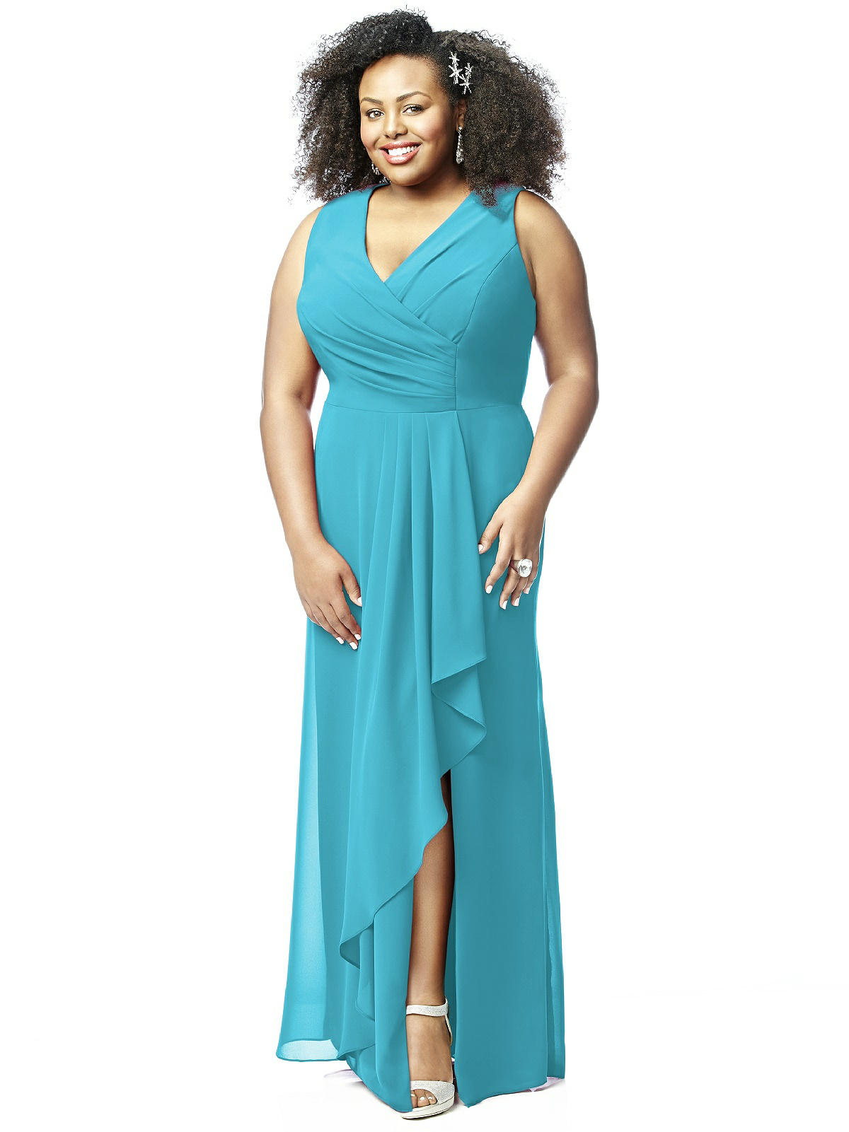 10 bridesmaids dresses for hot weather days plus size turquoise bridesmaid dress ombrellifo Gallery