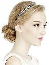CZ Deco Elastic Headband
