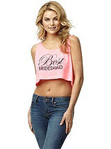 Best Bridesmaid Crop Tank