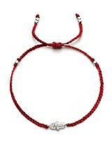Friendship Bracelet with CZ Hamsa