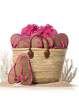 Moroccan Reed Beach Tote