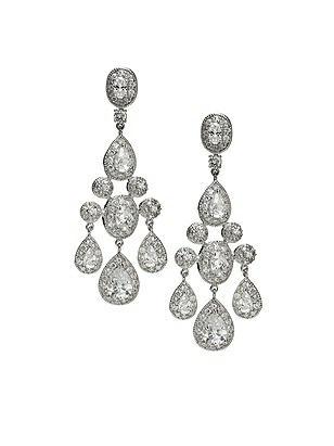 CZ Empire Chandelier Earrings http://www.dessy.com/accessories/cz-empire-chandelier-earrings/