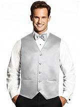 Tuxedo Vests in Matte Satin