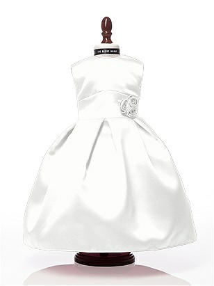 Doll dress to match style FL4022 http://www.dessy.com/accessories/18-inch-doll-dress-to-match-style-fl4022/