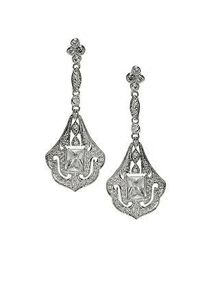 Art Deco Chandelier Earrings http://www.dessy.com/accessories/art-deco-chandelier-earrings/