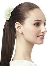 Crinkle Chiffon Flower Hair Tie
