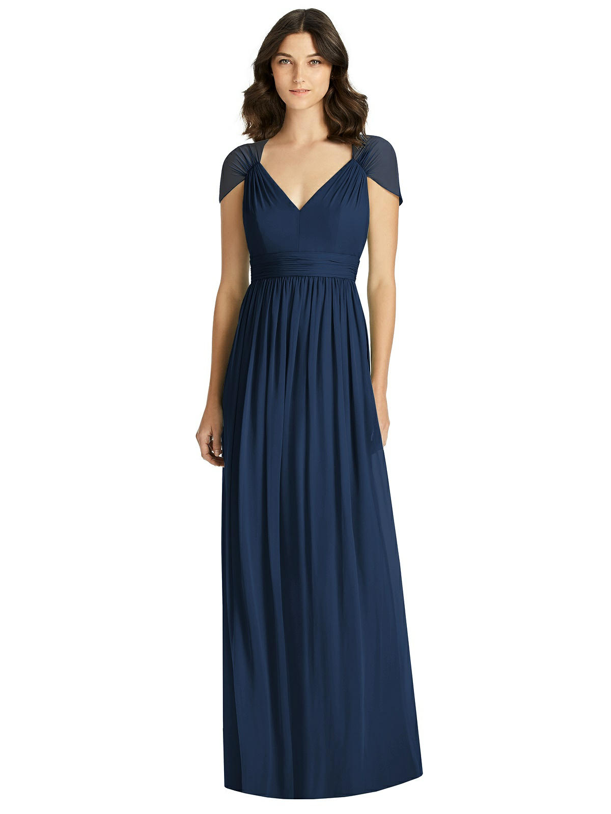 1940s Formal Dresses, Evening Gowns History Jenny Packham Bridesmaid Dress JP1021 $278.00 AT vintagedancer.com