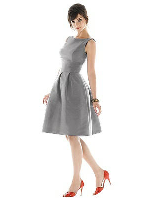1950s Cocktail Dresses, Party Dresses Special Order Alfred Sung Style D448 $184.00 AT vintagedancer.com