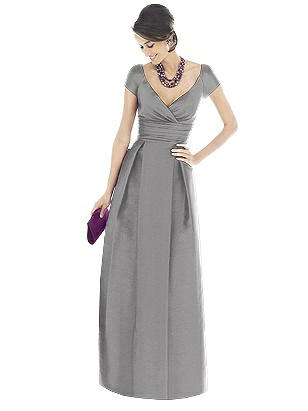 1960s Cocktail, Party, Prom and Formal Dresses Special Order Alfred Sung Bridesmaid Dress D501 $231.00 AT vintagedancer.com
