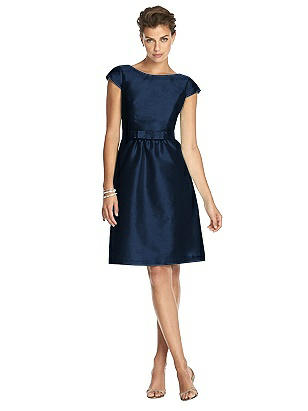60s Dresses | 1960s Dresses Mod, Mini, Hippie Special Order Alfred Sung Bridesmaid Dress D570 $219.00 AT vintagedancer.com
