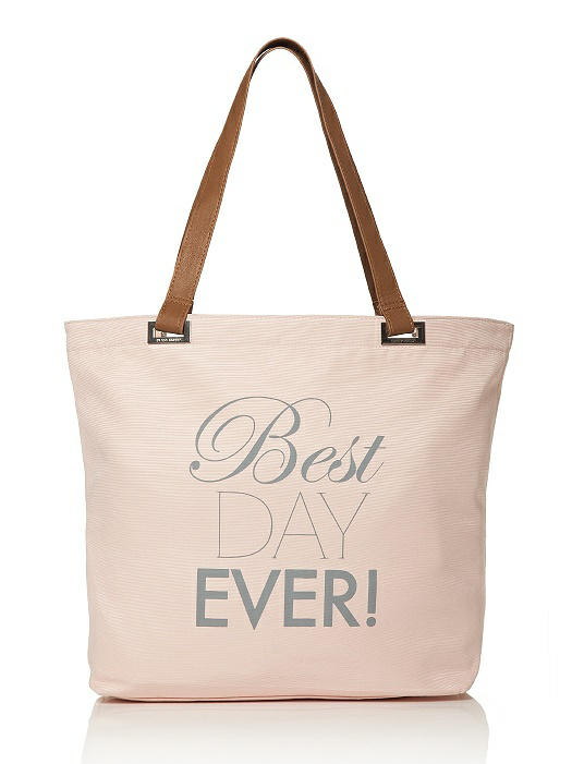 Best Day Ever Tote - Dessy.com