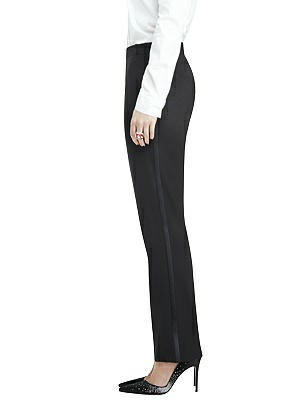 1920s Skirts, Gatsby Skirts, Vintage Pleated Skirts Womens Tuxedo Pant - Marlowe by After Six $125.00 AT vintagedancer.com