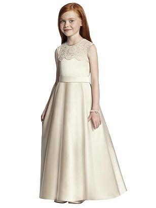 1940s Bridesmaid Dresses, Mother of the Bride Special Order Flower Girl Style FL4043 $242.00 AT vintagedancer.com
