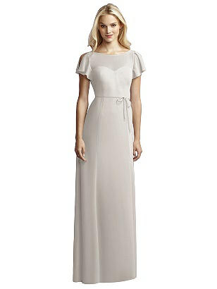 1930s Style Wedding Dresses | Art Deco Wedding Dress Special Order JY Jenny Yoo Bridesmaid Style JY518 $250.00 AT vintagedancer.com