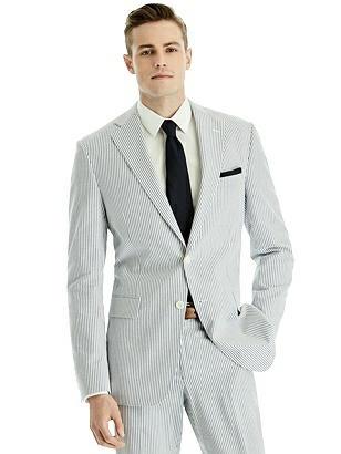 1920s Mens Suits | Gatsby, Gangster, Peaky Blinders Hardwick Mens Seersucker Jacket $279.00 AT vintagedancer.com