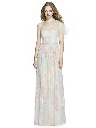 60s Wedding Dress | 1960s Style Wedding Dresses Jenny Packham Bridesmaid Style JP1003 Prints $292.00 AT vintagedancer.com