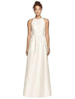60s Wedding Dresses | 70s Wedding Dresses Special Order Dessy Bridesmaid Dress 3024 $277.00 AT vintagedancer.com