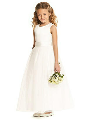 Kids 1950s Clothing & Costumes: Girls, Boys, Toddlers Special Order Flower Girl Dress FL4060 $201.00 AT vintagedancer.com