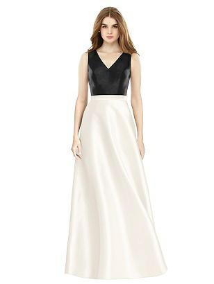 Vintage Evening Dresses and Formal Evening Gowns Special Order Alfred Sung Style D754 $231.00 AT vintagedancer.com