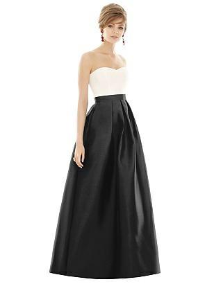 Vintage Evening Dresses and Formal Evening Gowns Special Order After Six Bridesmaids Style D755 $241.00 AT vintagedancer.com
