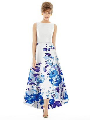1960s Dresses | 60s Dresses Mod, Mini, Jackie O, Hippie Alfred Sung Style D698CP $242.00 AT vintagedancer.com