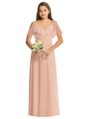 Edwardian Evening Gowns , Ballgowns, Formal Dresses Special Order Dessy Collection Junior Bridesmaid Dress JR548 $206.00 AT vintagedancer.com