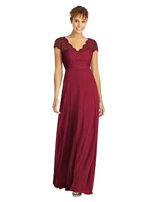 1940s Evening, Prom, Party, Formal, Ball Gowns Special Order Dessy Bridesmaid Dress 3033 $284.00 AT vintagedancer.com