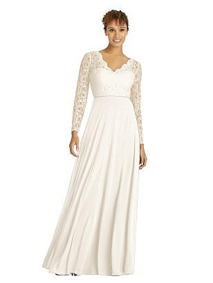 1940s Style Wedding Dresses | Classic Wedding Dresses Special Order Dessy Bridesmaid Dress 3034 $292.00 AT vintagedancer.com